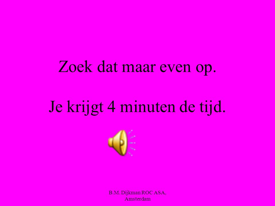 B.M. Dijkman ROC ASA, Amsterdam Maar wat is dan geëmulgeerd vet ??? En on-geëmulgeerd vet