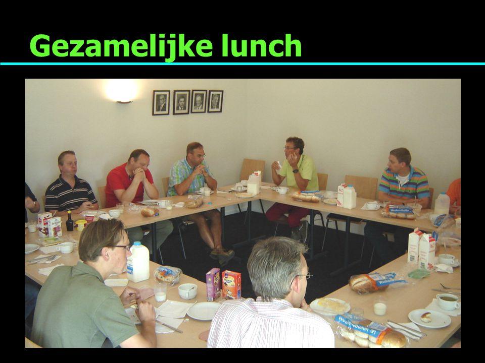 Gezamelijke lunch