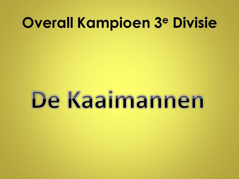 Overall Kampioen 3 e Divisie