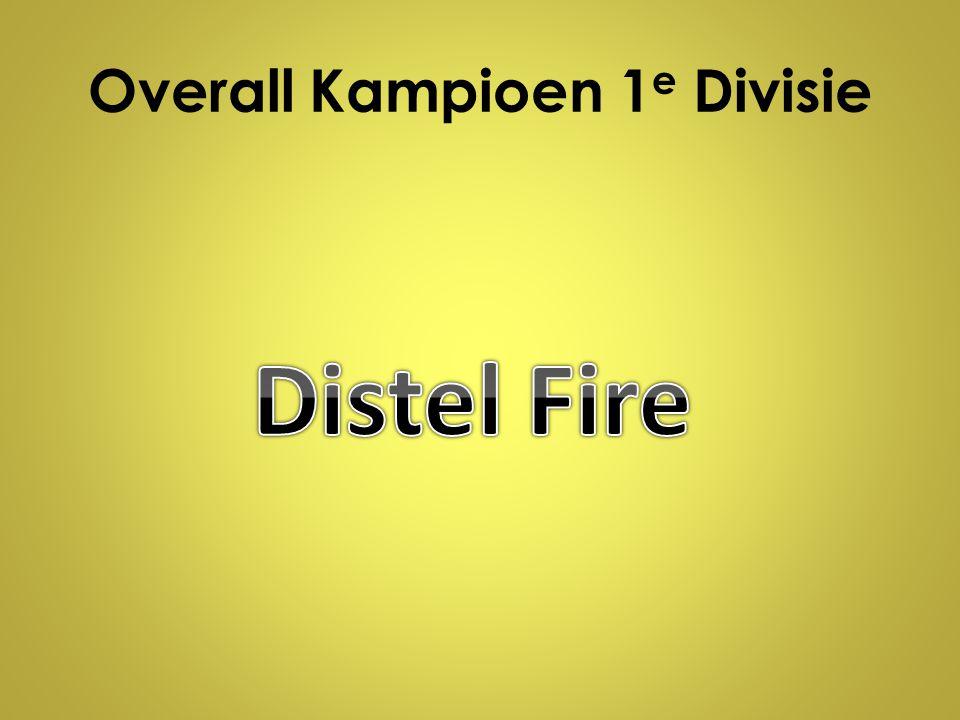 Overall Kampioen 1 e Divisie