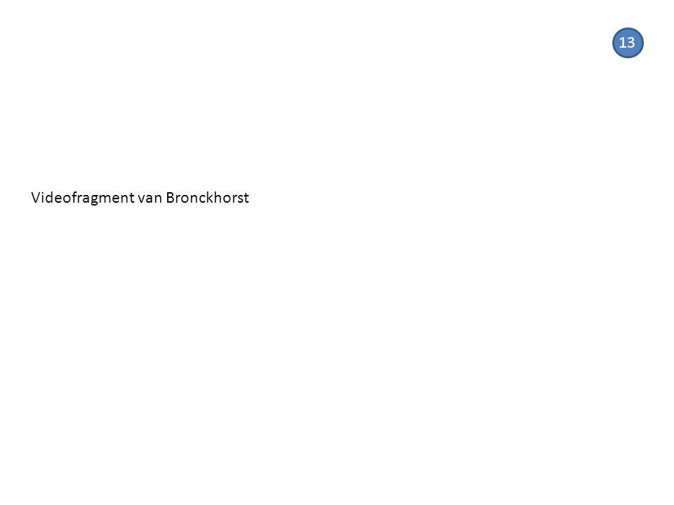 Videofragment van Bronckhorst 13