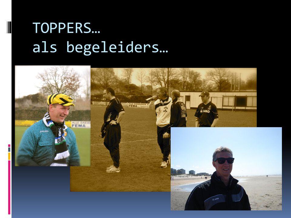 TOPPERS… als begeleiders…