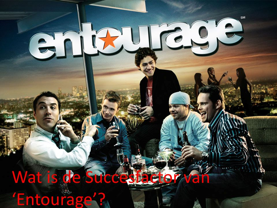 Wat is de Succesfactor van 'Entourage'?