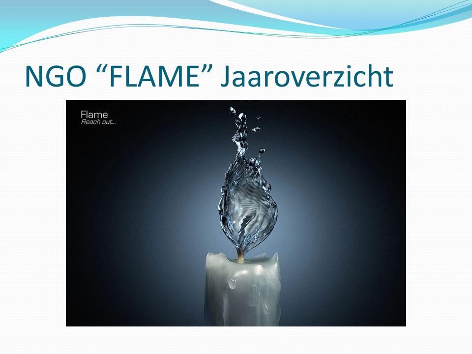 NGO FLAME Jaaroverzicht.