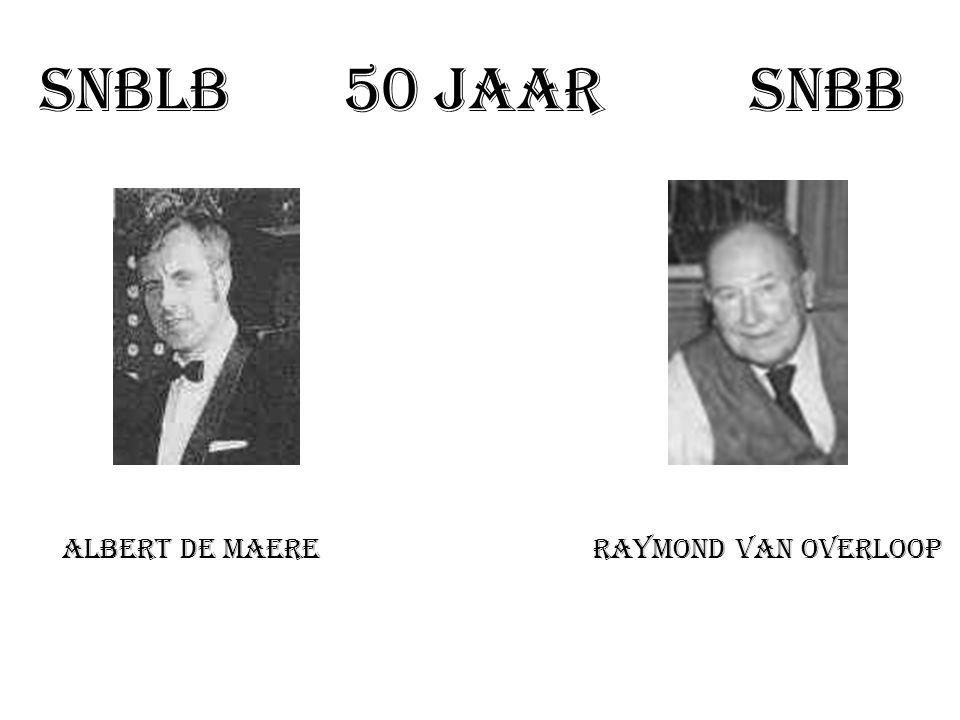 Uitreiking 25 ste interclub 1984 - 85 Van Steenacker R. Willockx F. Grossen G.
