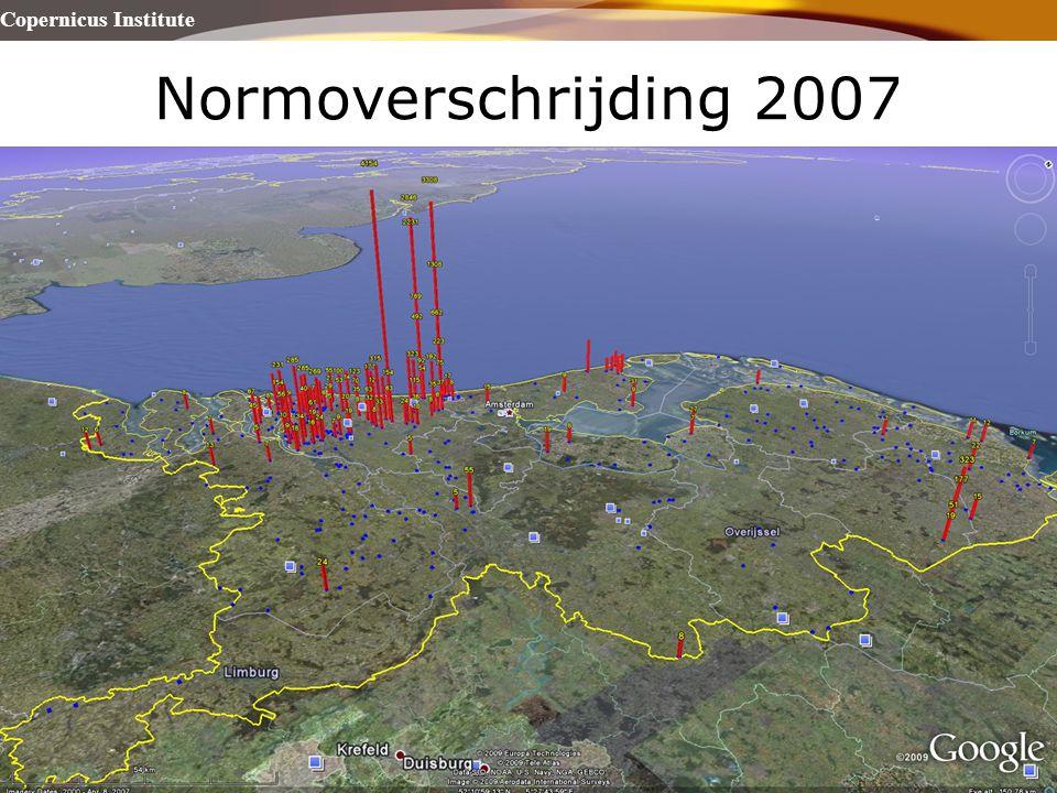 Copernicus Institute Universiteit Utrecht Normoverschrijding 2007