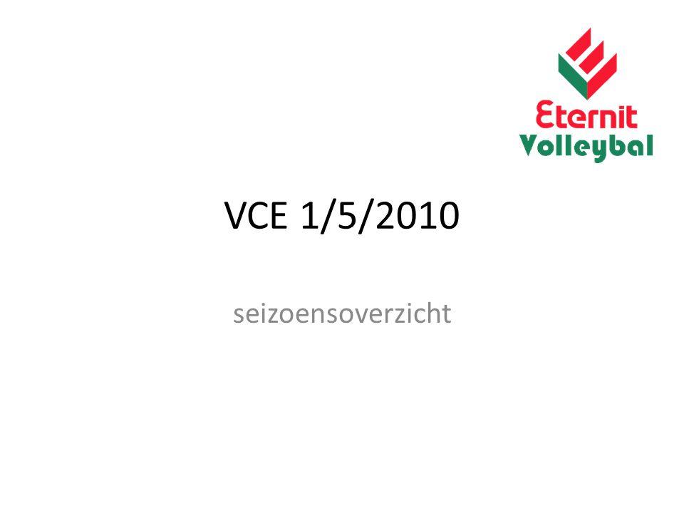 VCE 1/5/2010 seizoensoverzicht