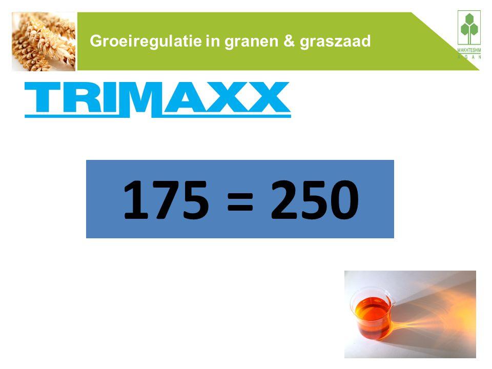 Groeiregulatie in granen & graszaad 175 = 250