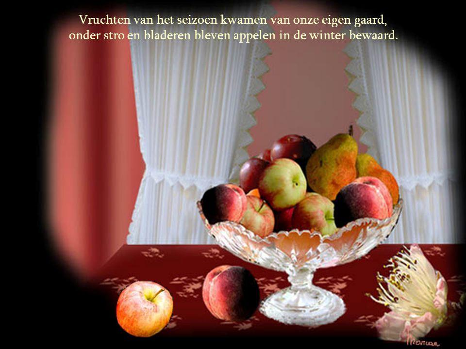 """Ons werd geleerd: pluk geen fruit bij de buur, de smaak is altijd zuur; """"eerlijkheid blijft het langste duren"""", maar waarom legt men mij dan zo dikwij"""