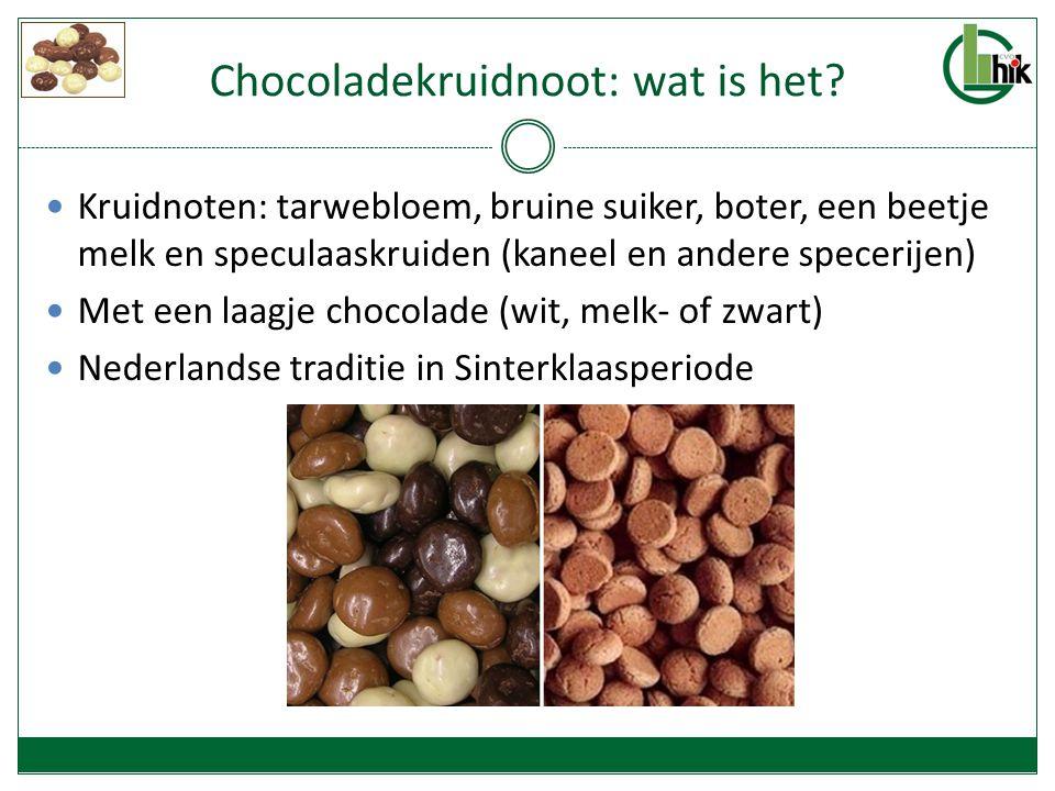 Aanleiding Iets wat ik zelf graag eet Helaas alleen van september tot december te koop In België maar in weinig winkels te vinden