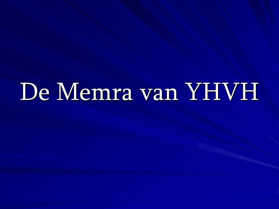 De Memra van YHVH