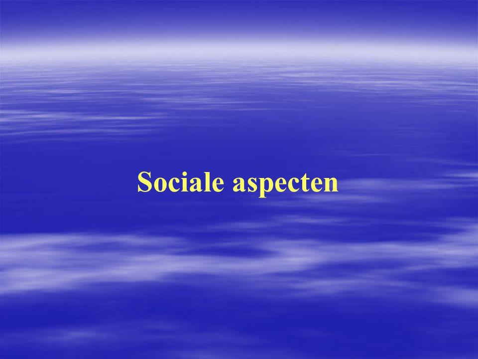 Sociale aspecten