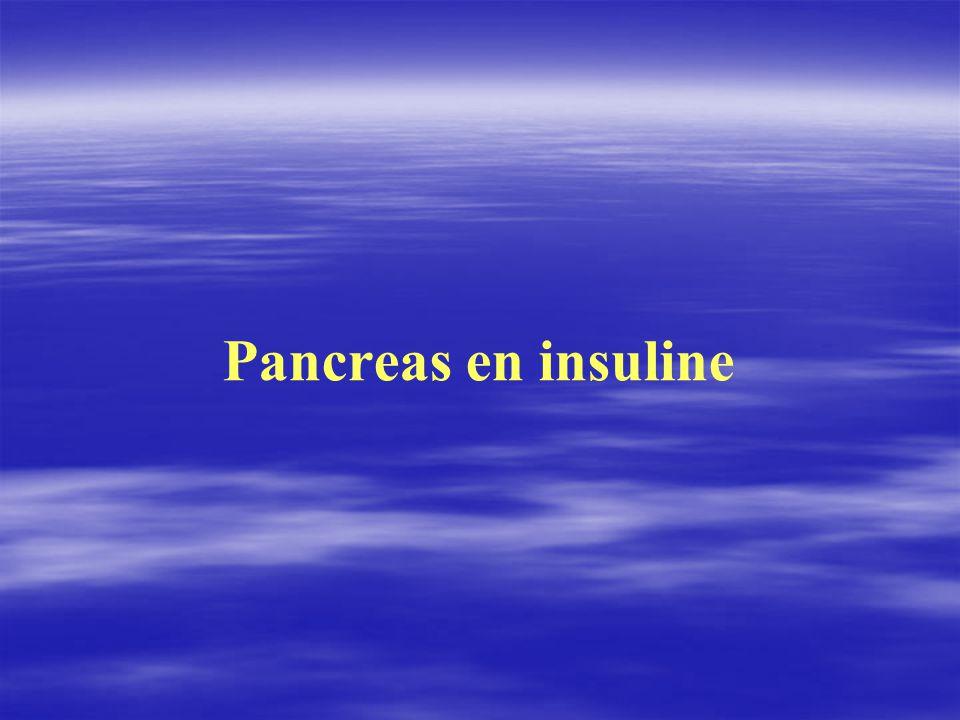 Pancreas en insuline