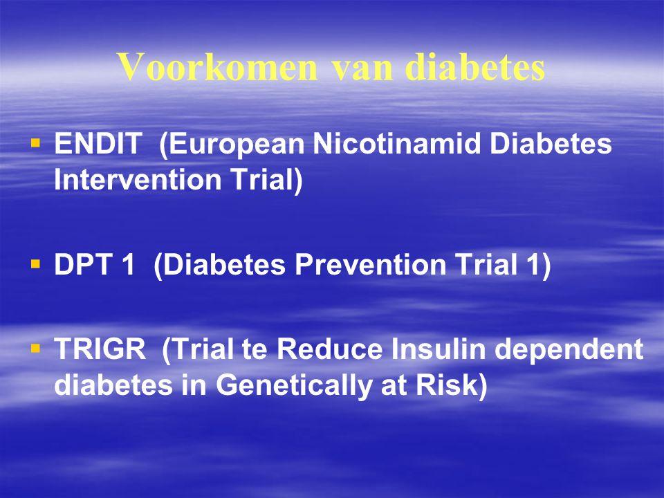 Wie moet extra opletten voor type 2 diabetes.