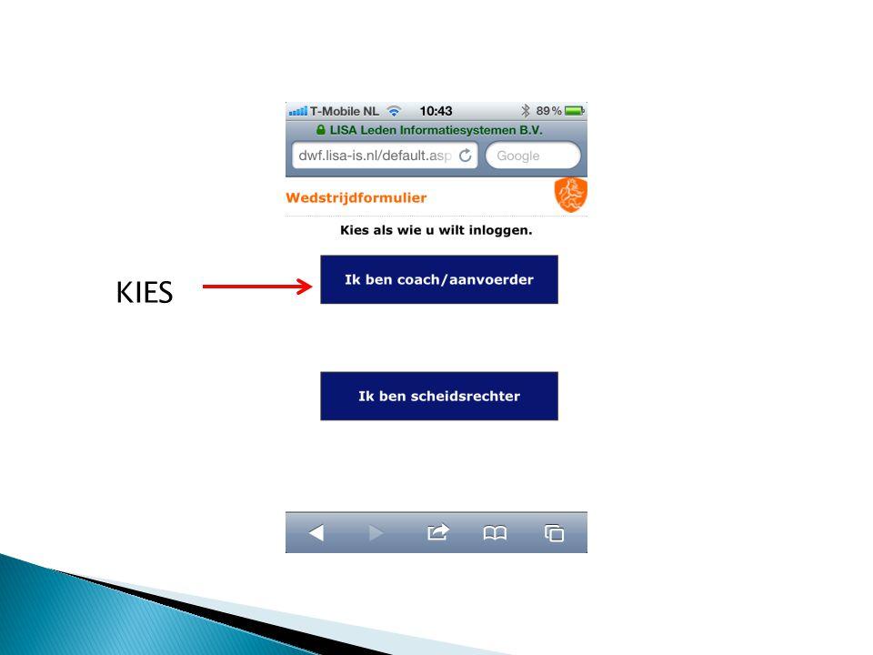 H.C.Prinsenbeek Deze gegevens heb je van de vereniging.