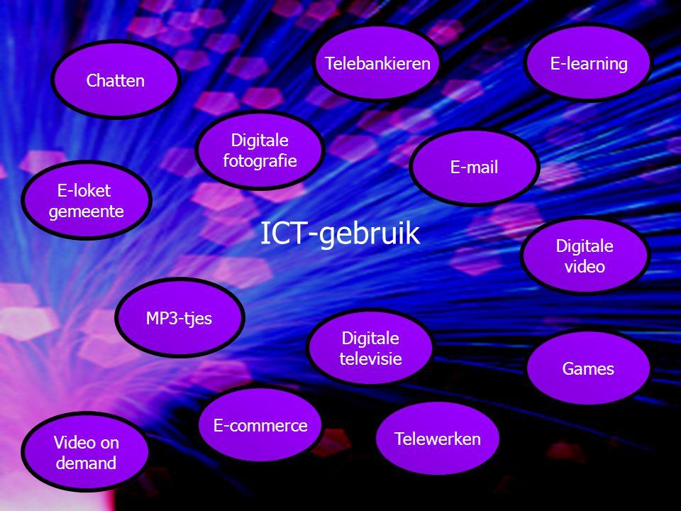 Kansen voor onderwijsvernieuwing: inspelen op een nieuwe tijd en generatie Economische structuur evolueert meer en meer naar kenniseconomie ICT vaardigheden onmisbaar op arbeidsmarkt ICT ontwikkelingen gaan snel Nieuwe generatie visueel ingesteld – multimedia èn groepsdynamiek èn zelfstandig leren specifieke aandacht voor specifieke groepen Onderwijs wordt steeds meer maatwerk: onderwijs moet structureel investeren in ICT