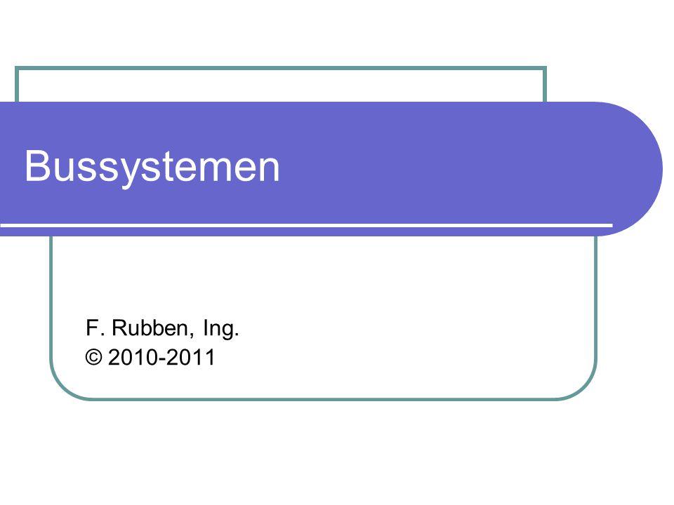 Bussystemen F. Rubben, Ing. © 2010-2011