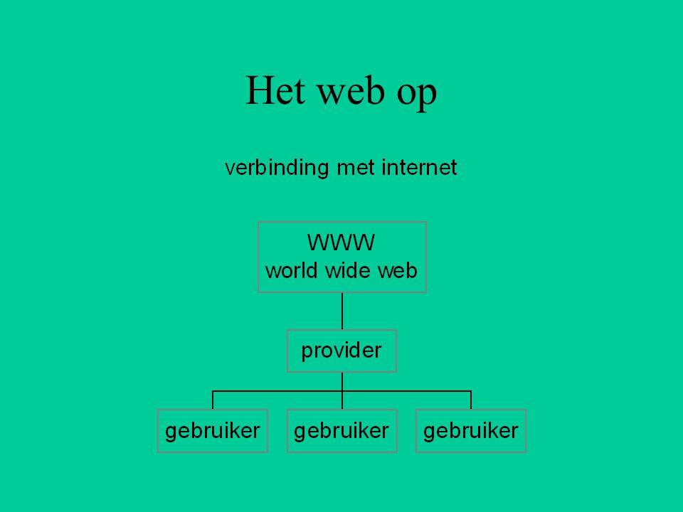 Het web op