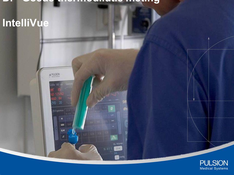 ITBVi preload parameter ITBVi – Intra thoracale Bloed Volume Index Als indicator voor een betrouwbare meting GEDI 680-800 ml/m 2 