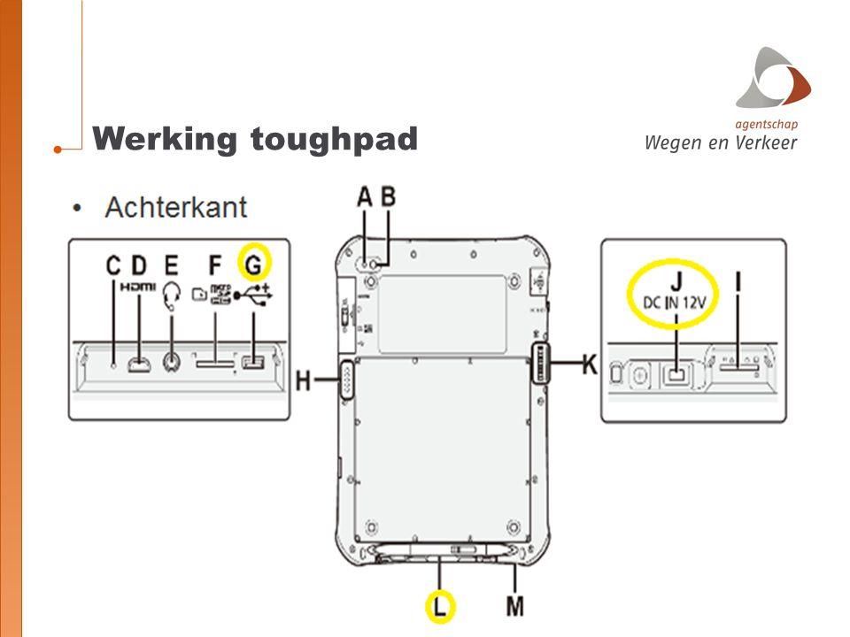 Werking toughpad