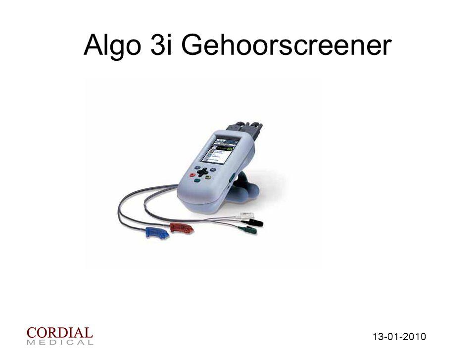 Algo 3i Gehoorscreener 13-01-2010