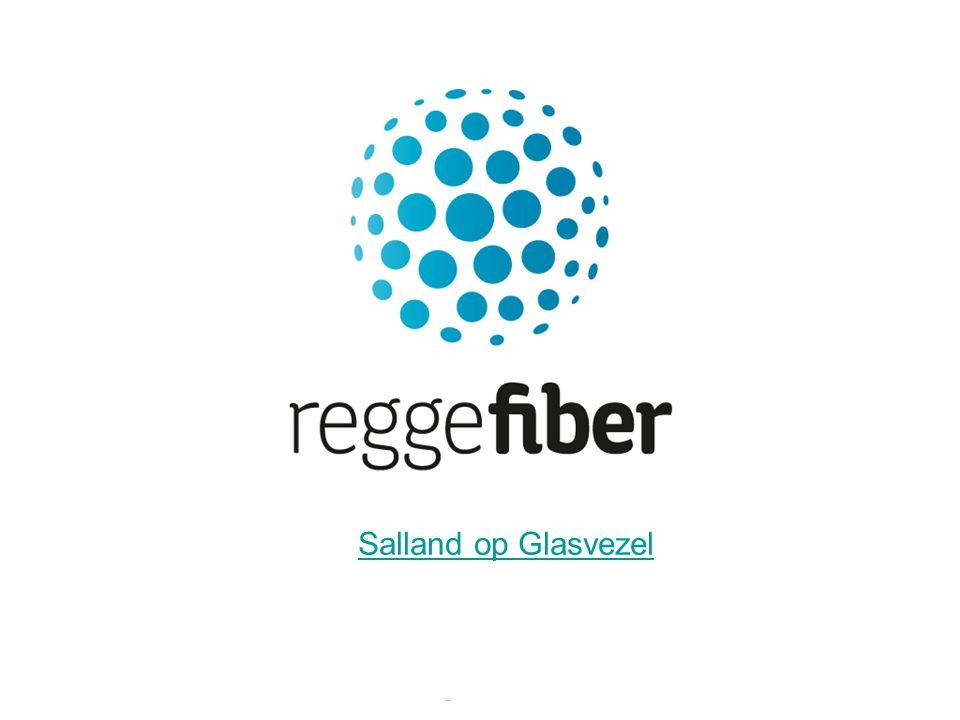 12 | 23 Open netwerk Iedere service provider kan op ons glasvezelnetwerk
