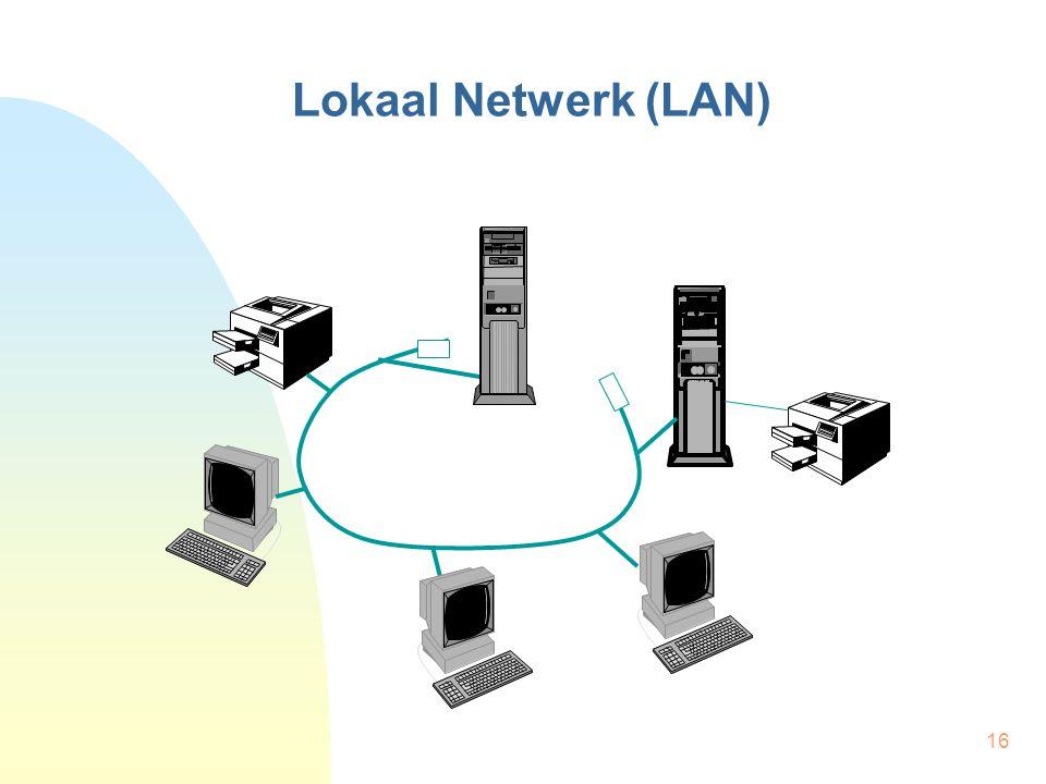 16 Lokaal Netwerk (LAN)