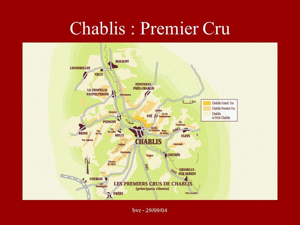 bvc - 29/09/04 Chablis : Premier Cru