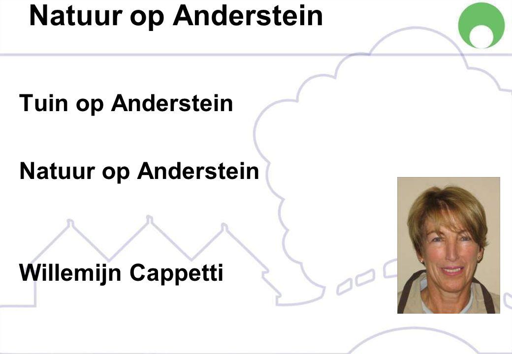 Natuur op Anderstein Tuin op Anderstein Natuur op Anderstein Willemijn Cappetti