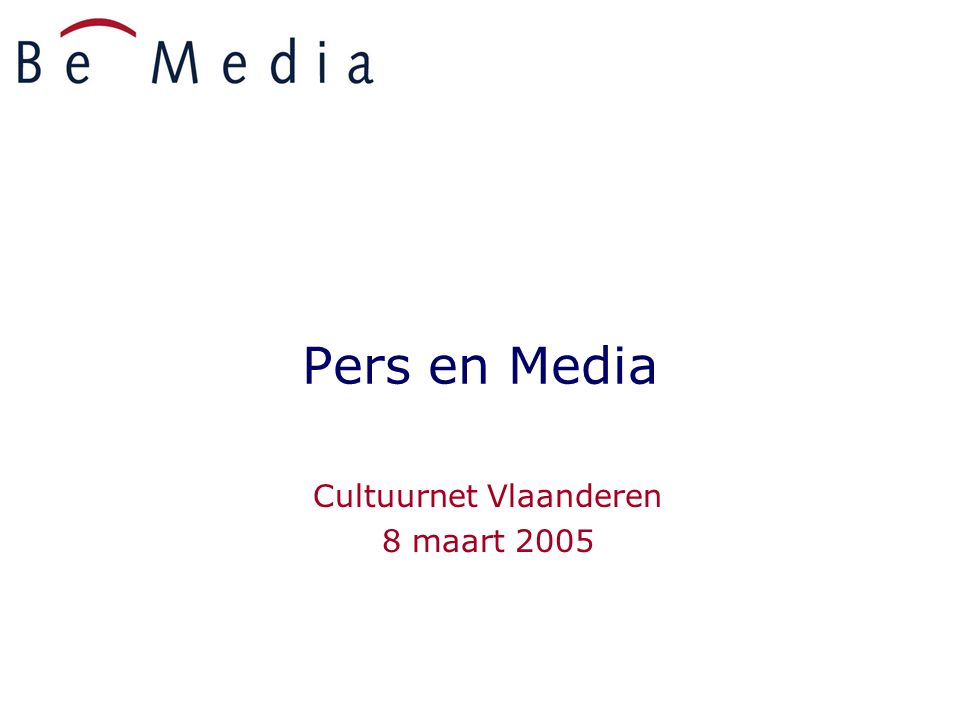 8 maart 200532 TV: altijd nieuwe toepassingen Technologische revolutie  Fragmentatie  Evolutie naar doelgroep TV ( Vitaya, TMF, Kanaal Z, regionale TV,...)  interactiviteit  Digitalisering : kijken wanneer men wil, betalen voor waar men naar kijkt  Internet en TV -> meer interactiviteit  Verruiming van de grenzen