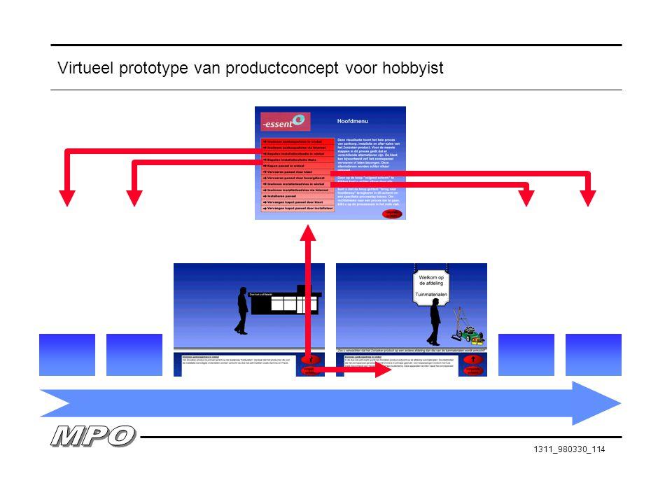1311_980330_114 Virtueel prototype van productconcept voor hobbyist