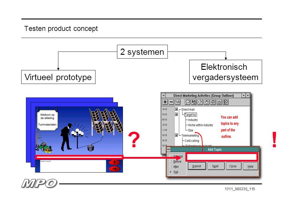 1311_980330_115 Testen product concept Virtueel prototype 2 systemen Elektronisch vergadersysteem ?!