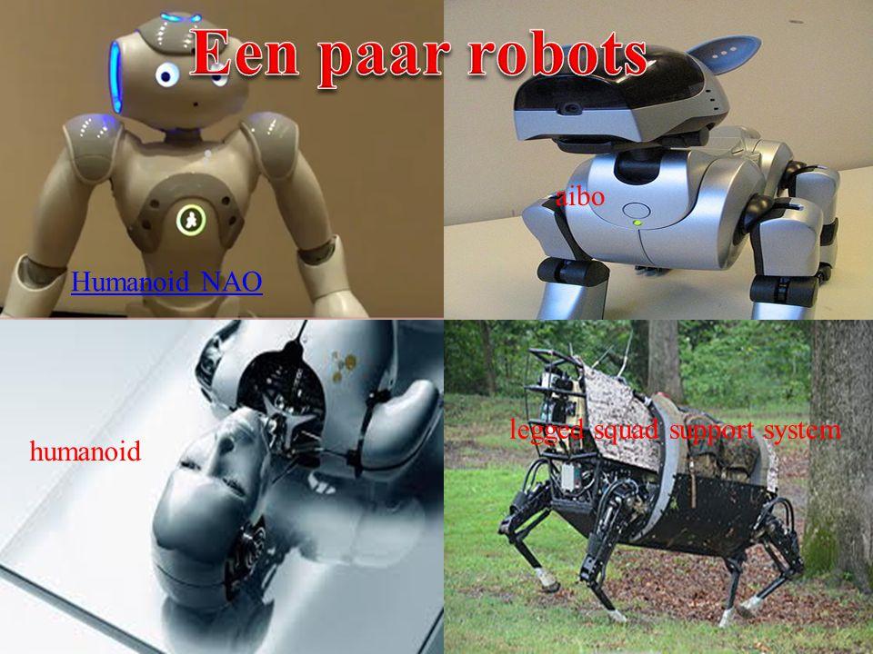 Humanoid NAO humanoid legged squad support system aibo