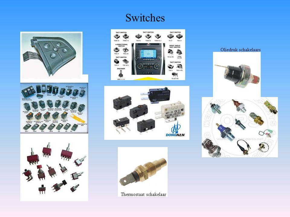 Oliedruk schakelaars Thermostaat schakelaar Switches