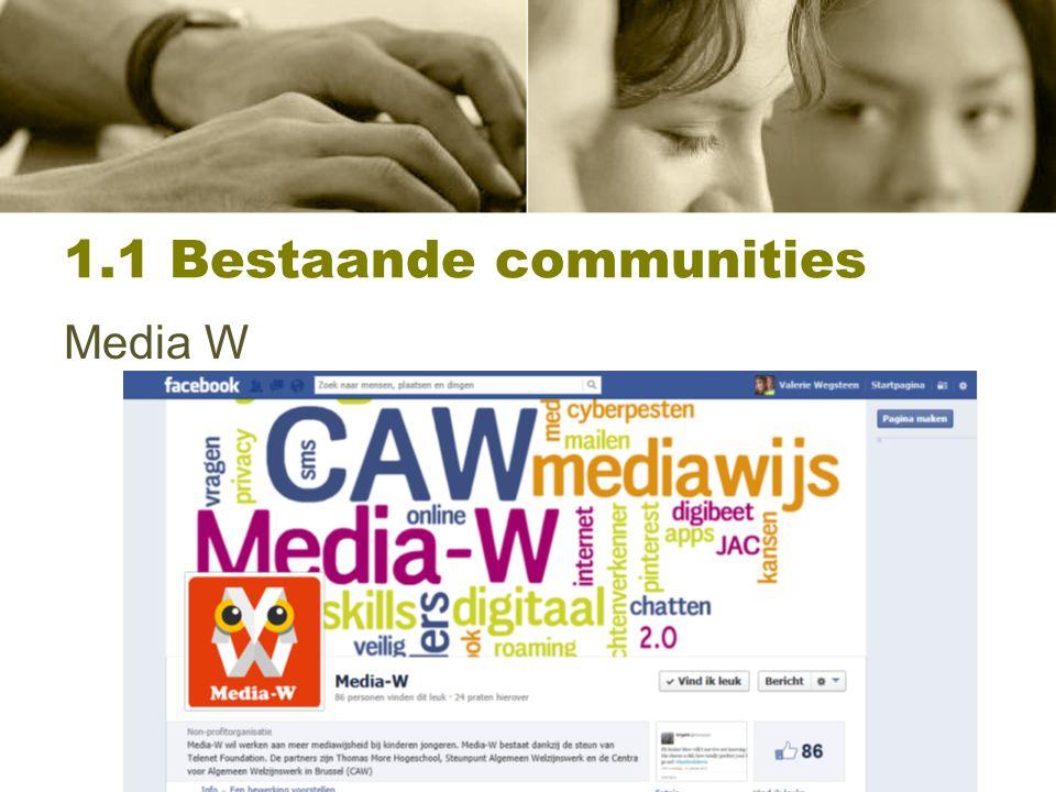 1.1 Bestaande communities Snap!