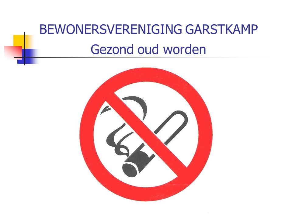 BEWONERSVERENIGING GARSTKAMP Gezond ouder worden Stelling 6 Op het gebied van welzijn moet er veel meer in de Garstkamp gebeuren (voorbeelden)