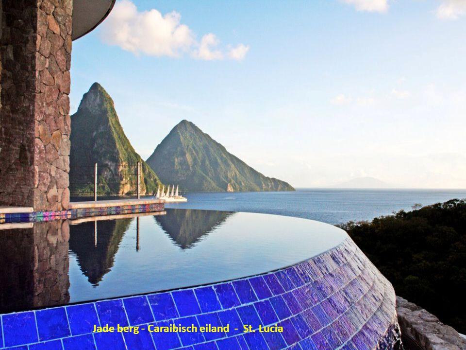 Jade berg - Caraibisch eiland - St. Lucia