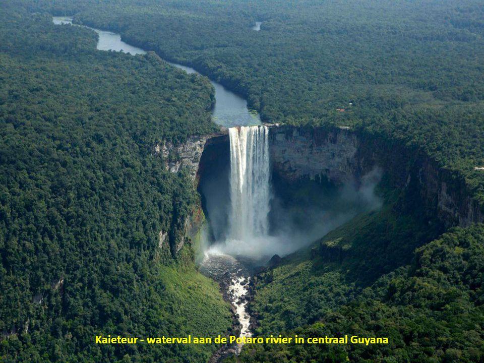 Kaieteur - waterval aan de Potaro rivier in centraal Guyana
