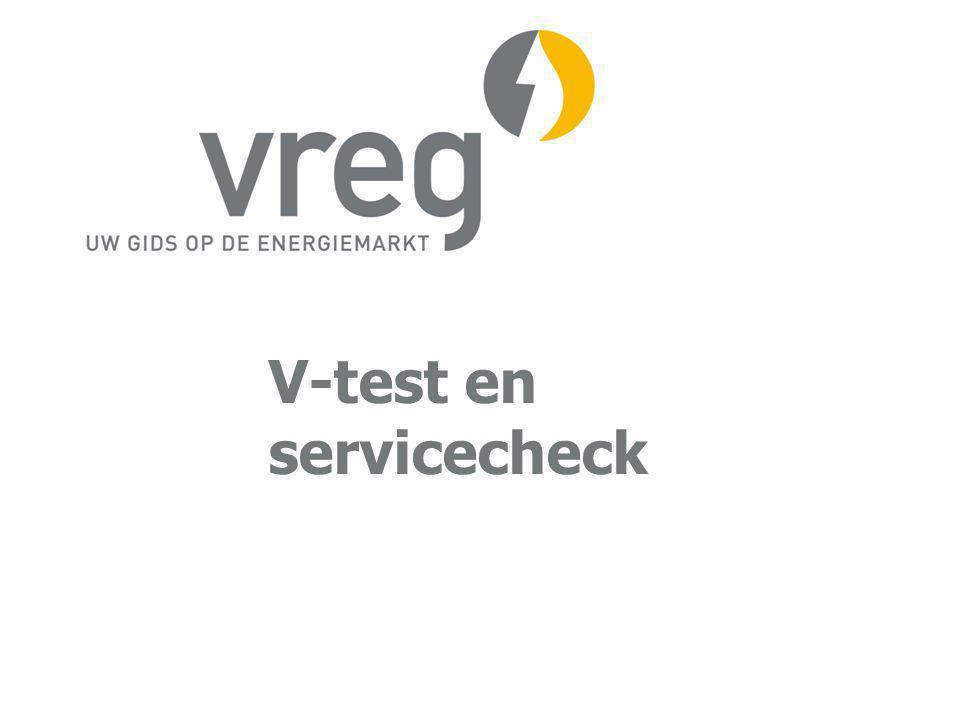 V-test en servicecheck