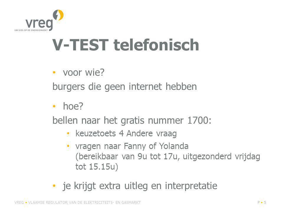 V-TEST telefonisch voor wie. burgers die geen internet hebben hoe.