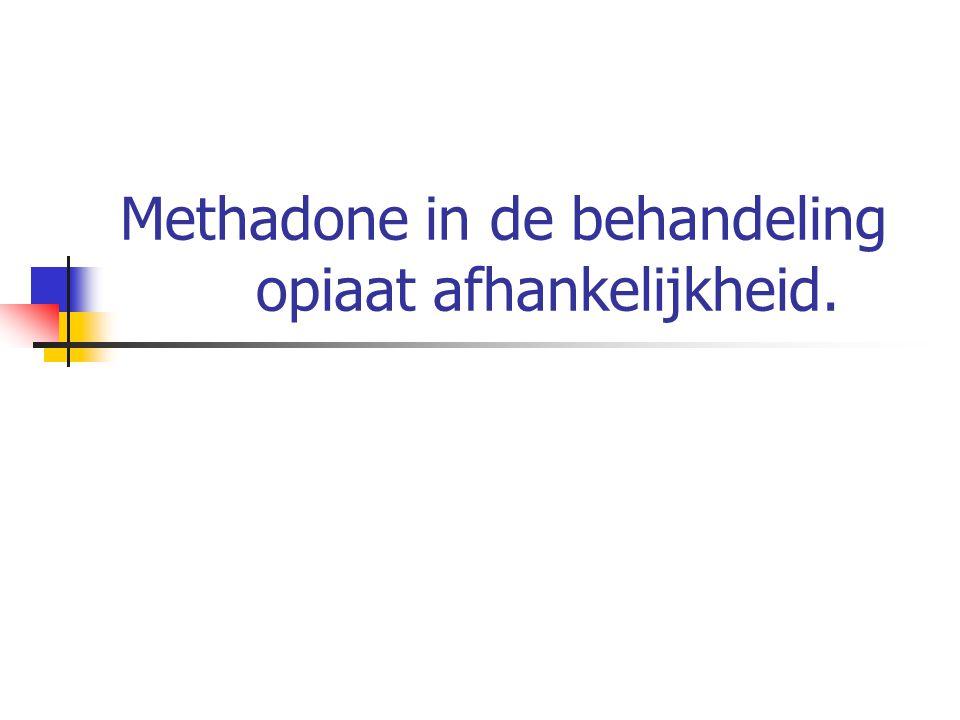 Inhoud 1.Definiëring van afhankelijkheid 2. Verschillen tussen heroïne en methadon 3.