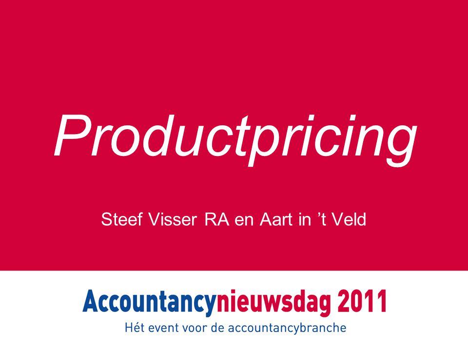 Productpricing Steef Visser RA en Aart in 't Veld