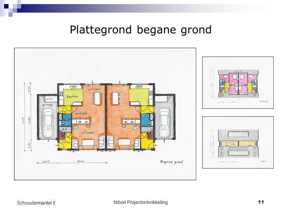 Nibori Projectontwikkeling11 Schoudermantel II Plattegrond begane grond