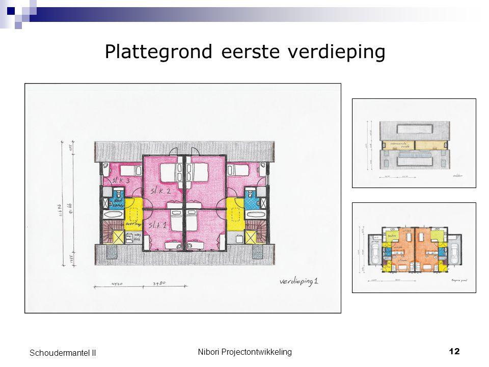 Nibori Projectontwikkeling12 Schoudermantel II Plattegrond eerste verdieping