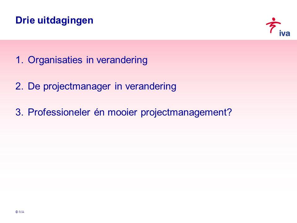 © IVA Is een projectmanager een professional.