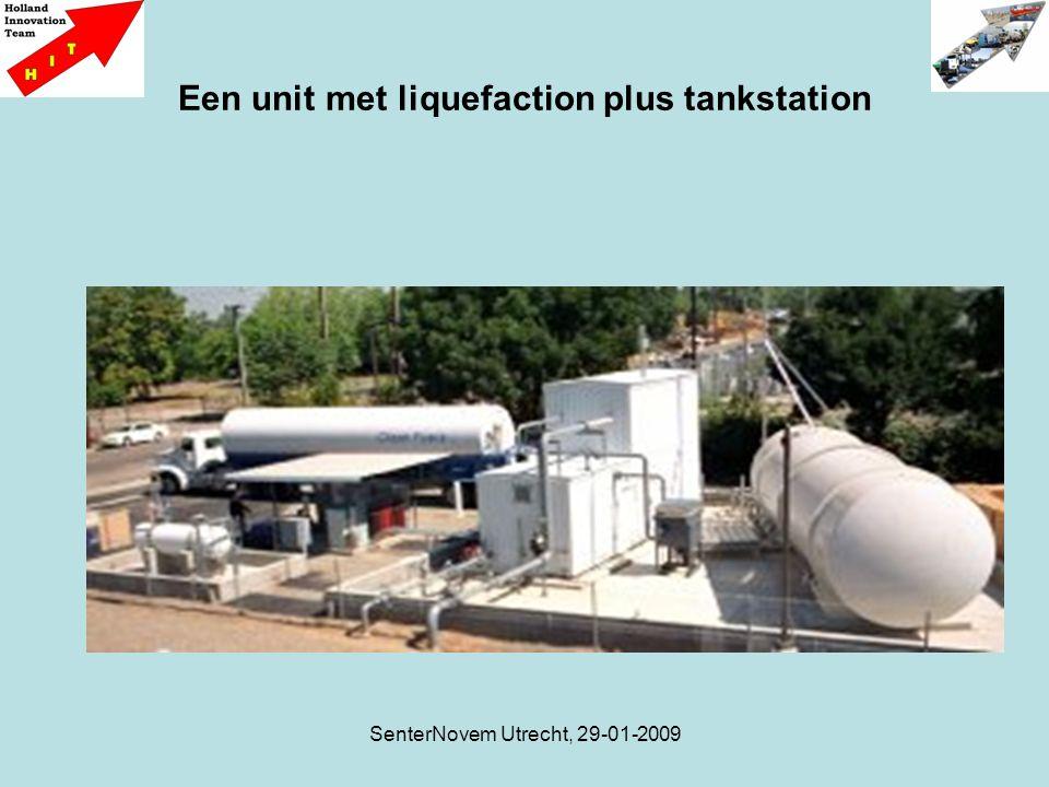 SenterNovem Utrecht, 29-01-2009 Een unit met liquefaction plus tankstation