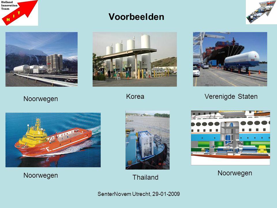 SenterNovem Utrecht, 29-01-2009 Voorbeelden Noorwegen KoreaVerenigde Staten Noorwegen Thailand