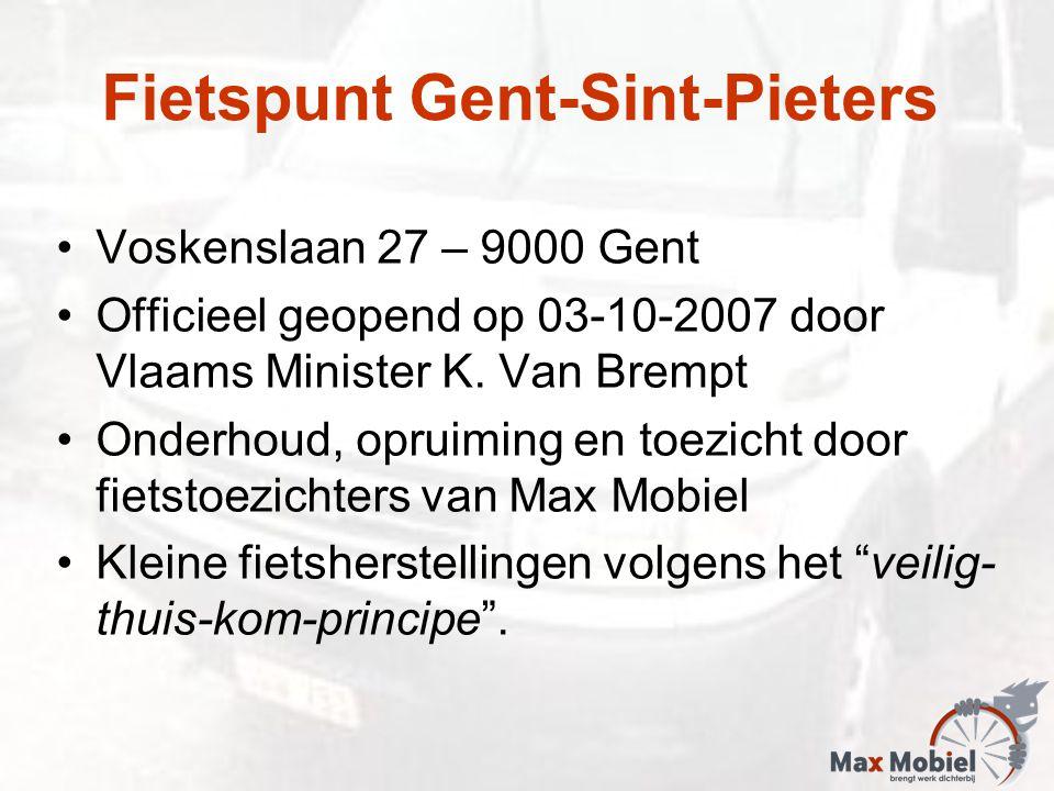 Voskenslaan 27 – 9000 Gent Officieel geopend op 03-10-2007 door Vlaams Minister K.
