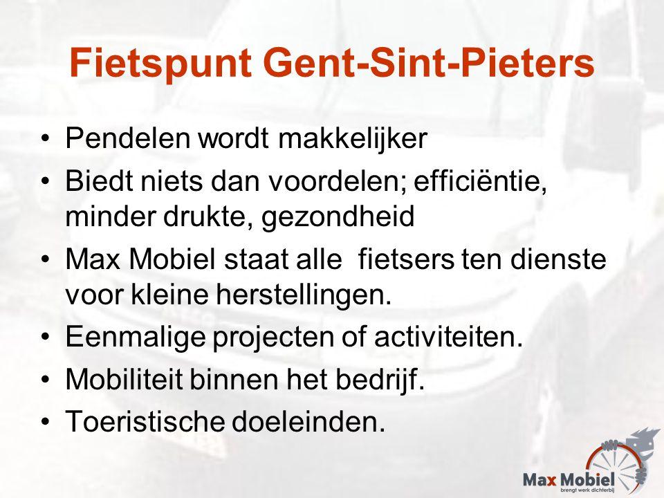 Pendelen wordt makkelijker Biedt niets dan voordelen; efficiëntie, minder drukte, gezondheid Max Mobiel staat alle fietsers ten dienste voor kleine herstellingen.