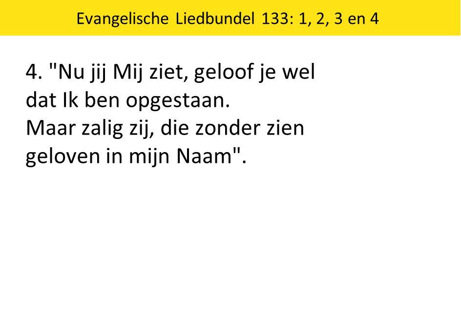 Evangelische Liedbundel 133: 1, 2, 3 en 4 4.